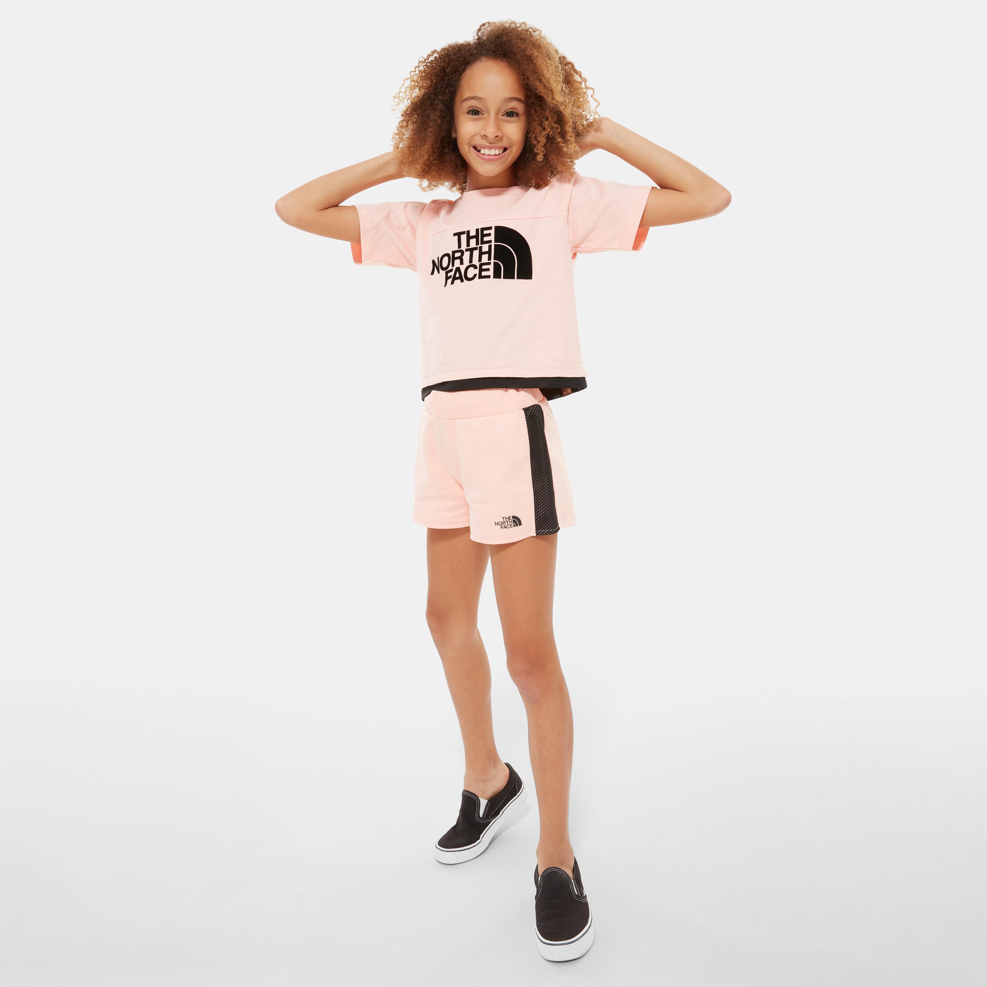 Футболка для девочек Girls' Cropped T-Shirt фото