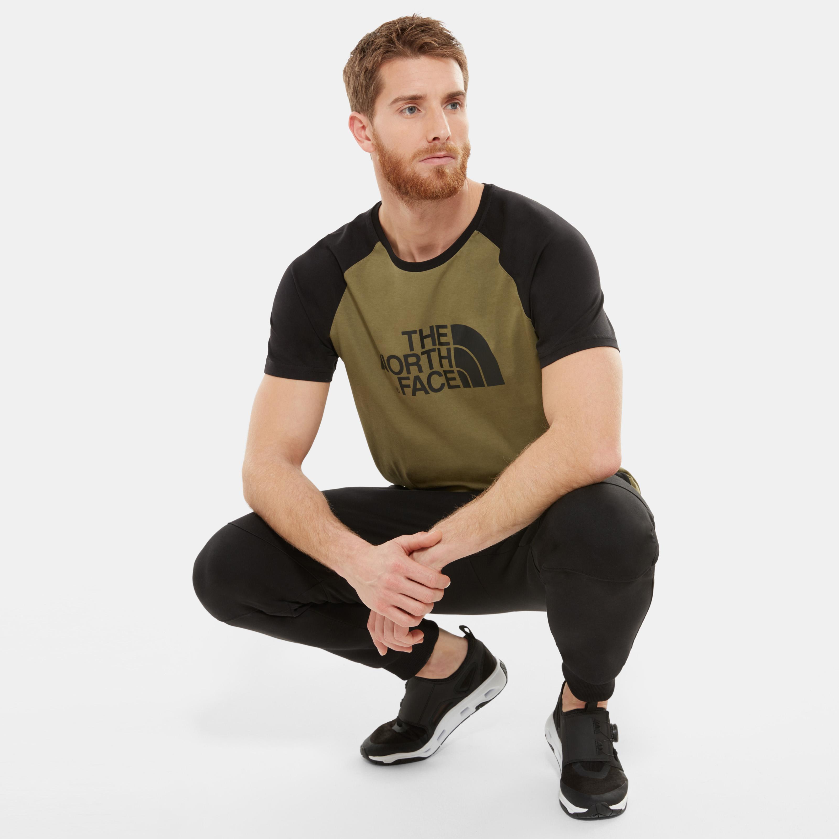 Купить со скидкой Мужская футболка Raglan Easy T-Shirt