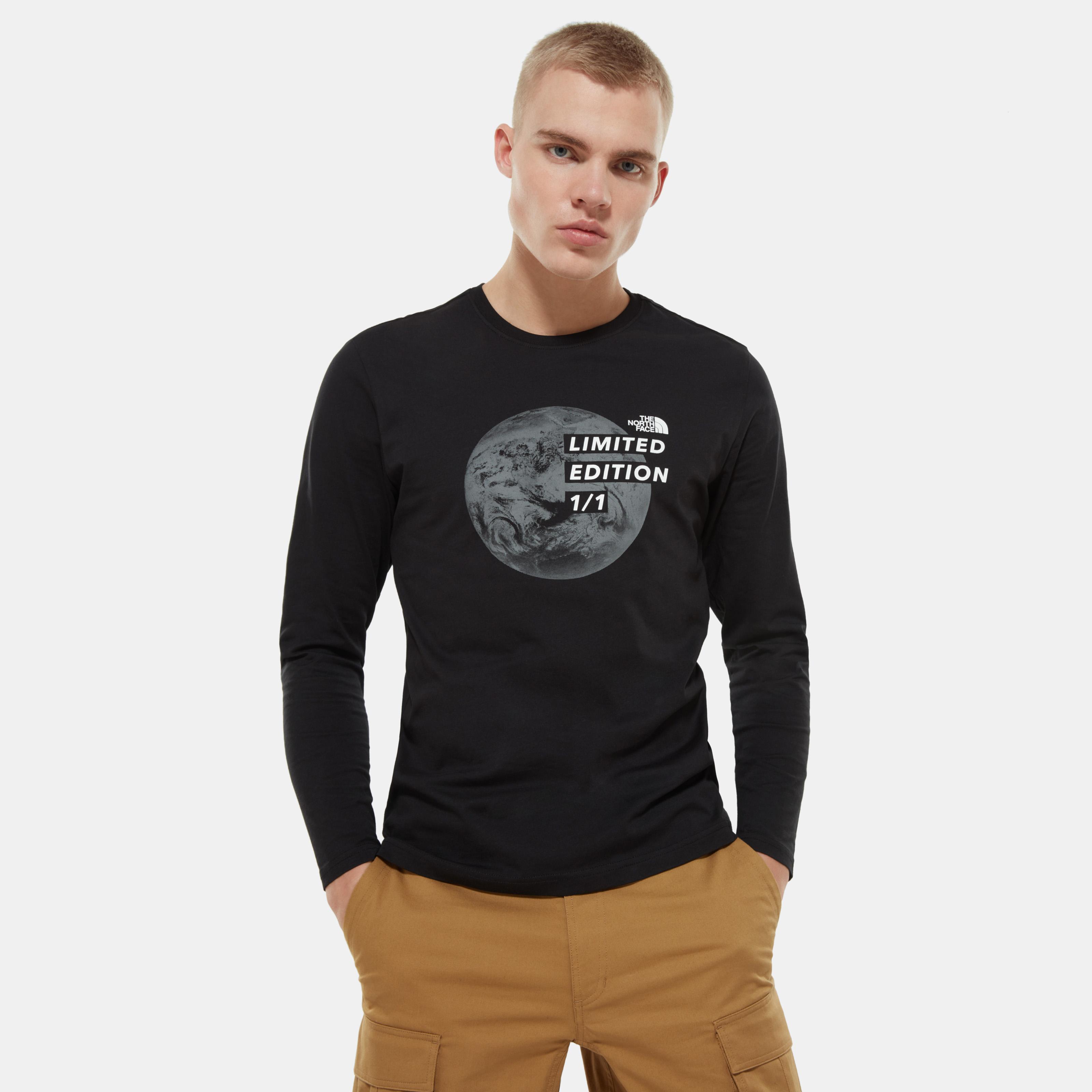 Мужская футболка с длинным рукавом Men'S Graphic Long-Sleeve T-Shirt фото