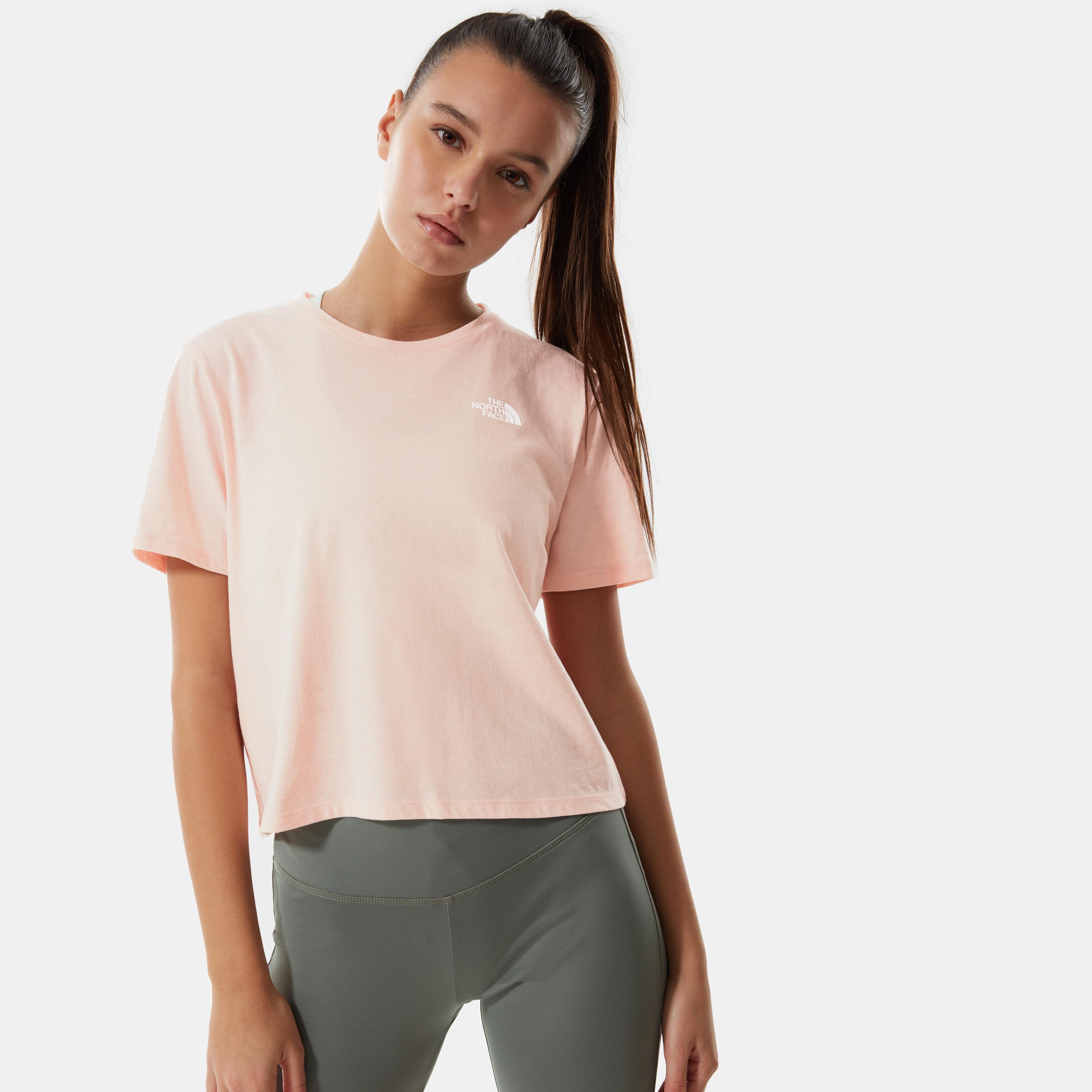 Женская футболка FOUNDATION CROPPED TA55AYX7Z