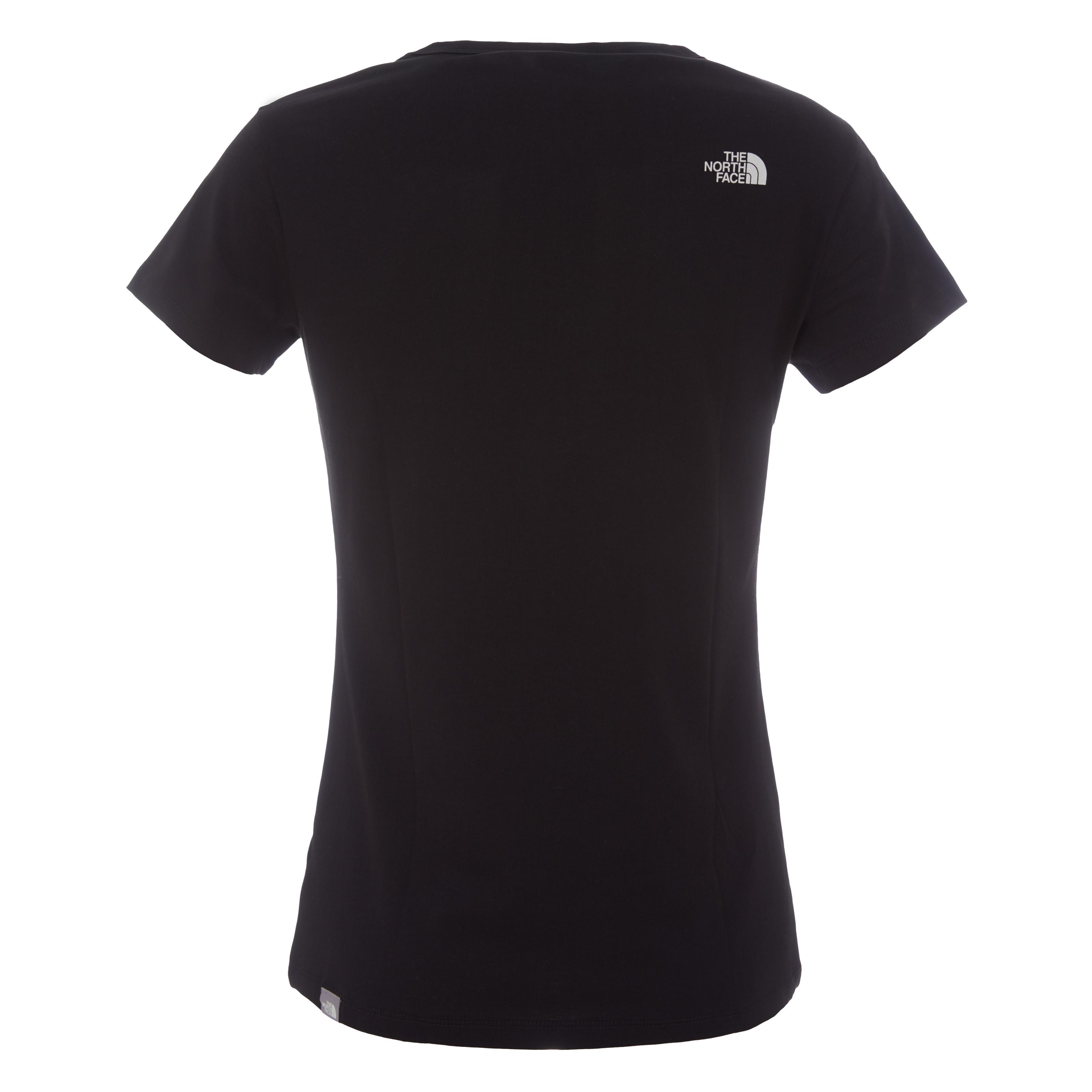 Базовая женская футболка с вырезом фото