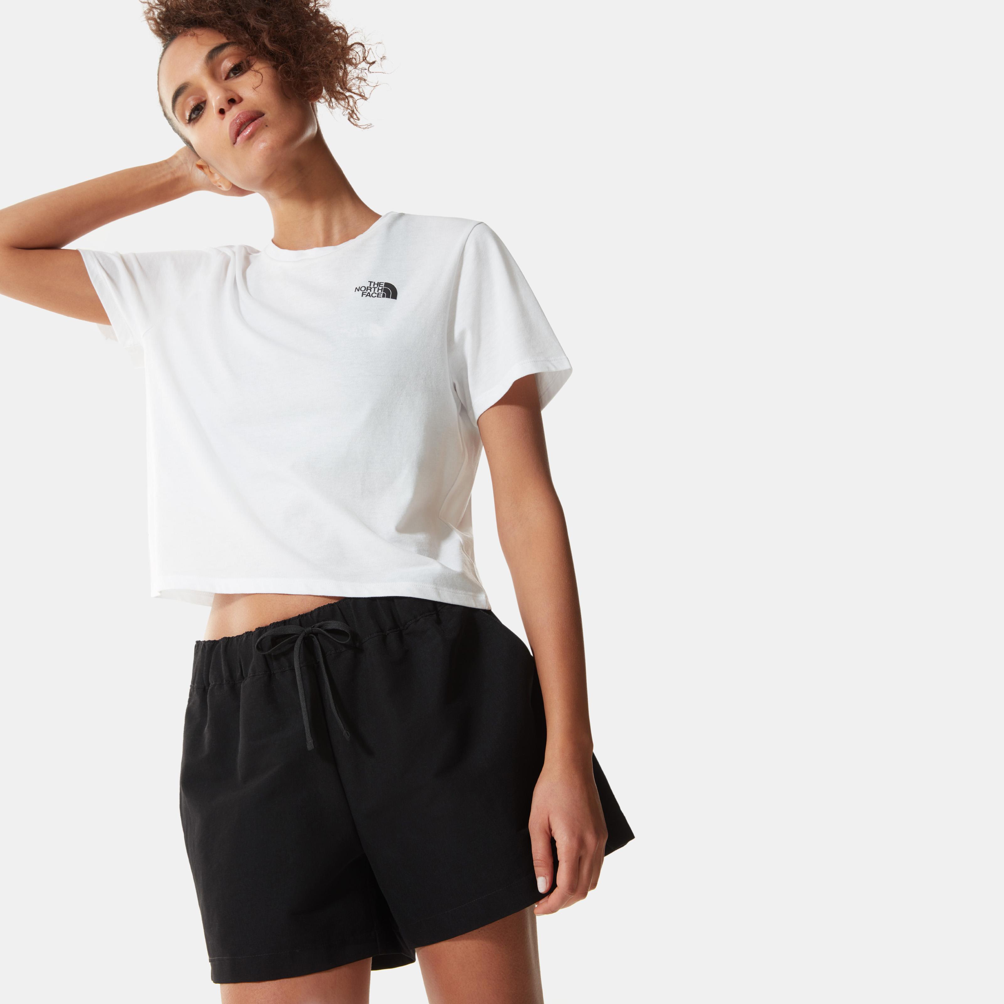 Женская футболка FOUNDATION CROPPED TA55AYPF3