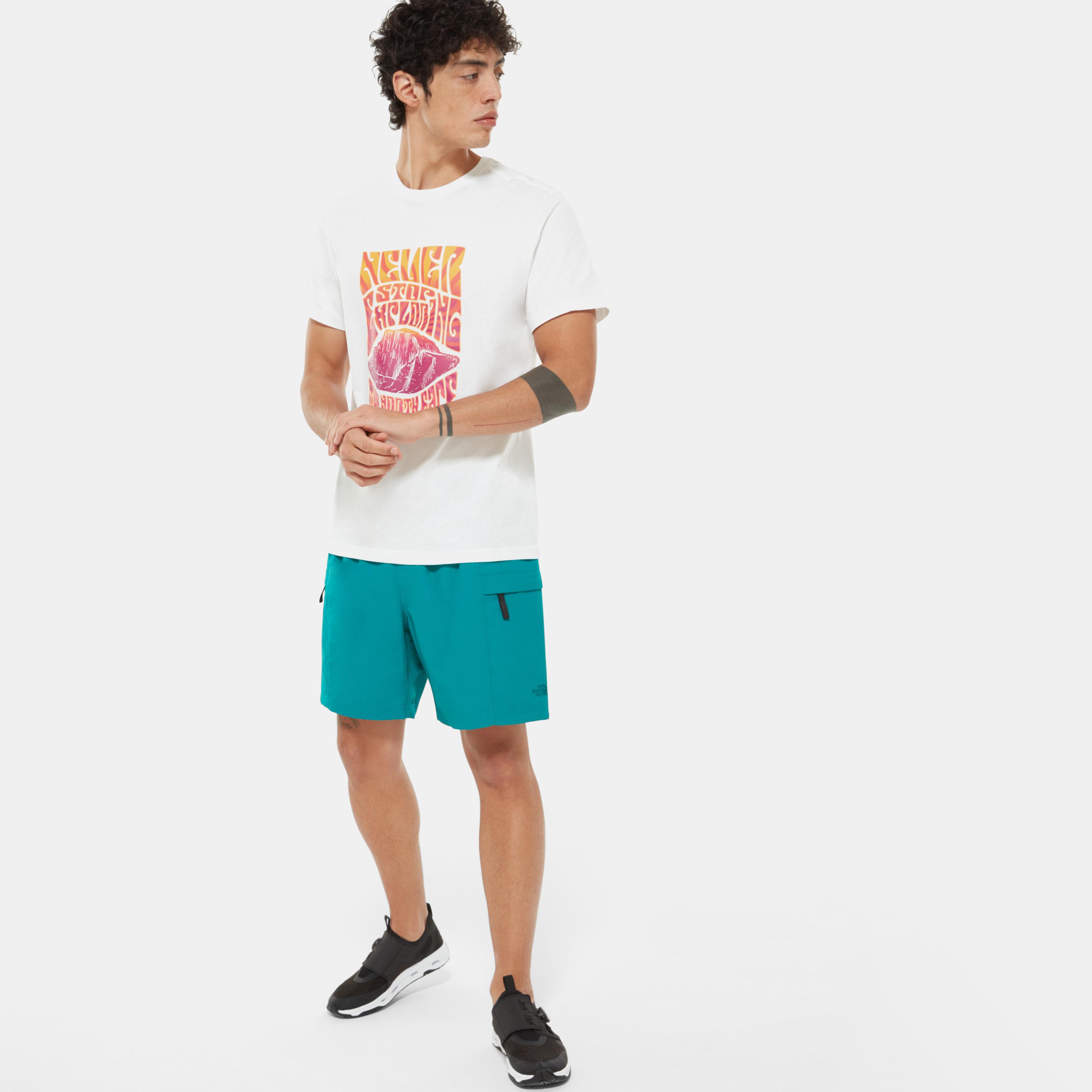 Купить со скидкой Мужская футболка с коротким рукавом Men'S Graphic Short-Sleeve T-Shirt